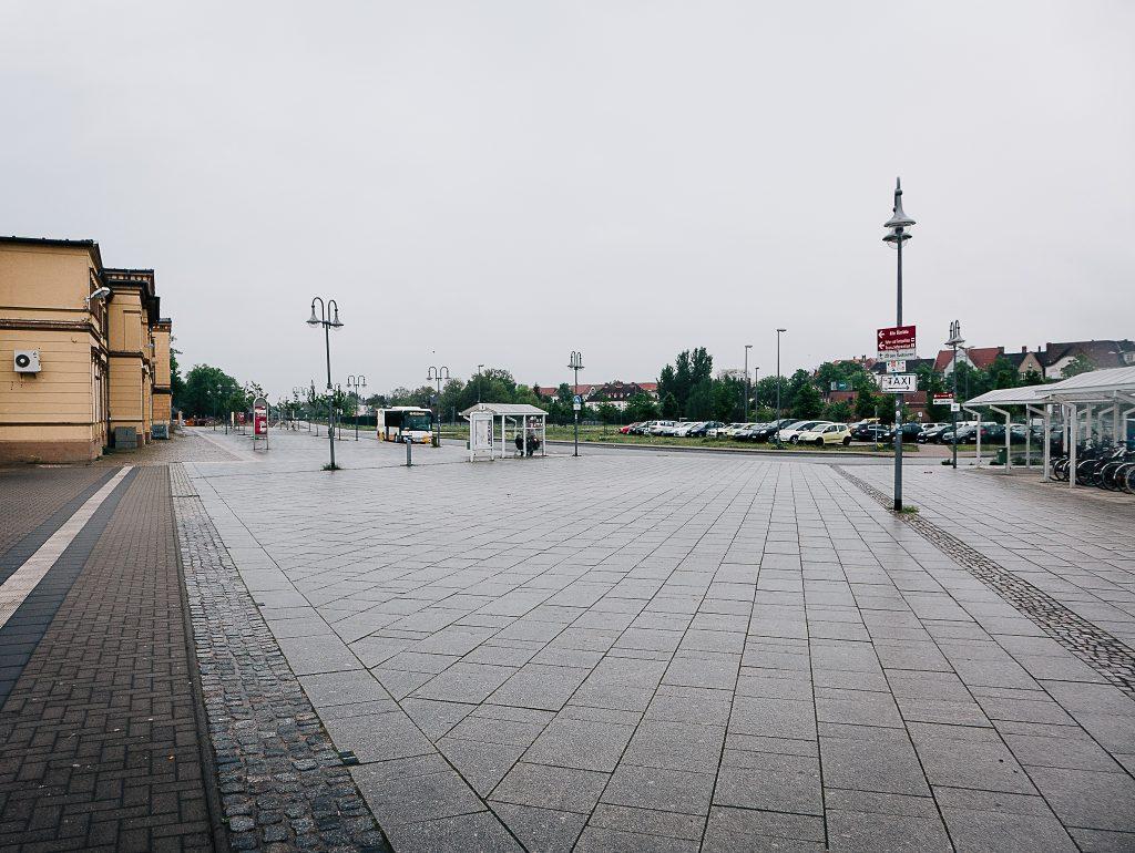 Bahnhofsvorplatz Wittenberge