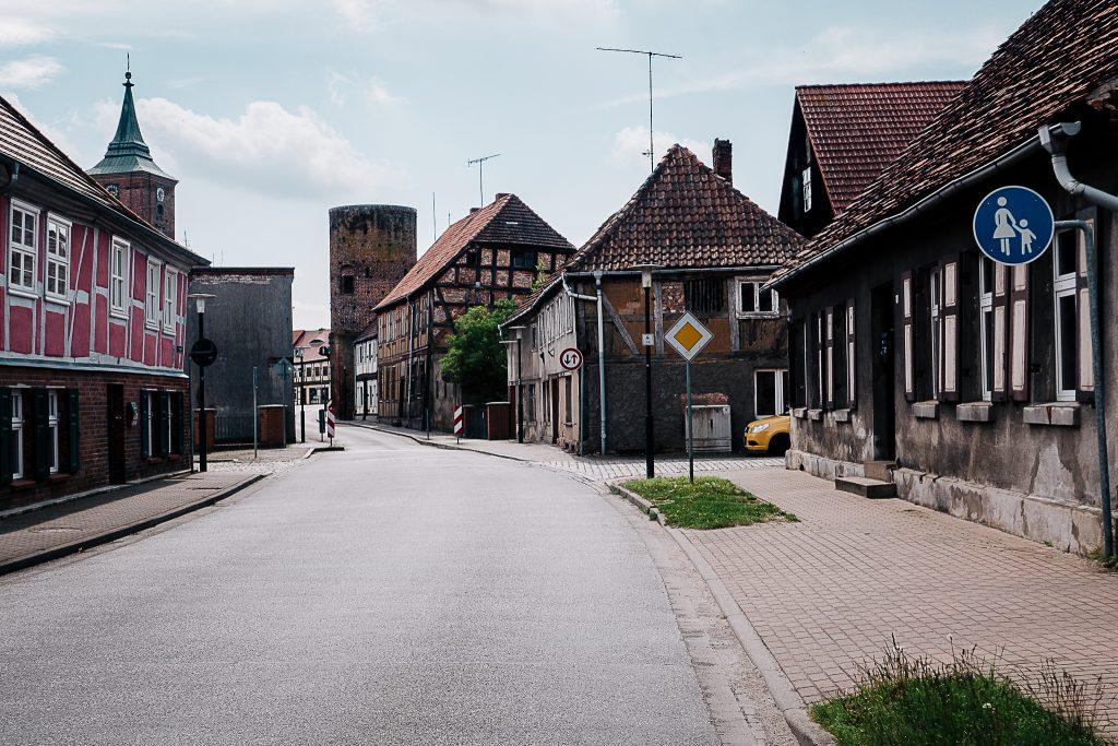 Lenzen. Historischer Stadtkern.