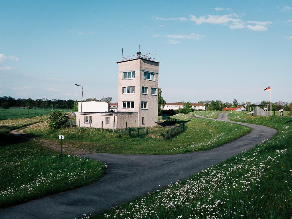 Ehemalige Grenzübergangsstelle Cumlosen.